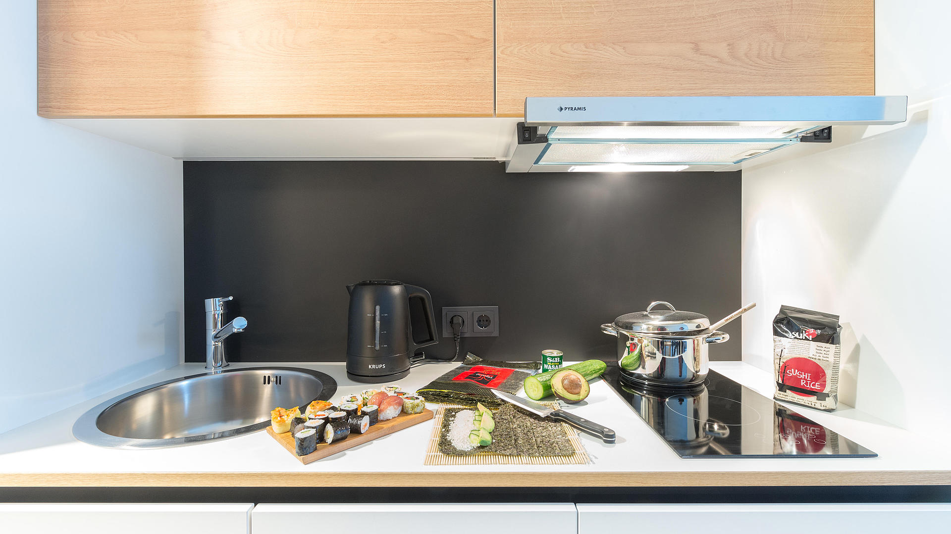 SMARTments business Kitchenette